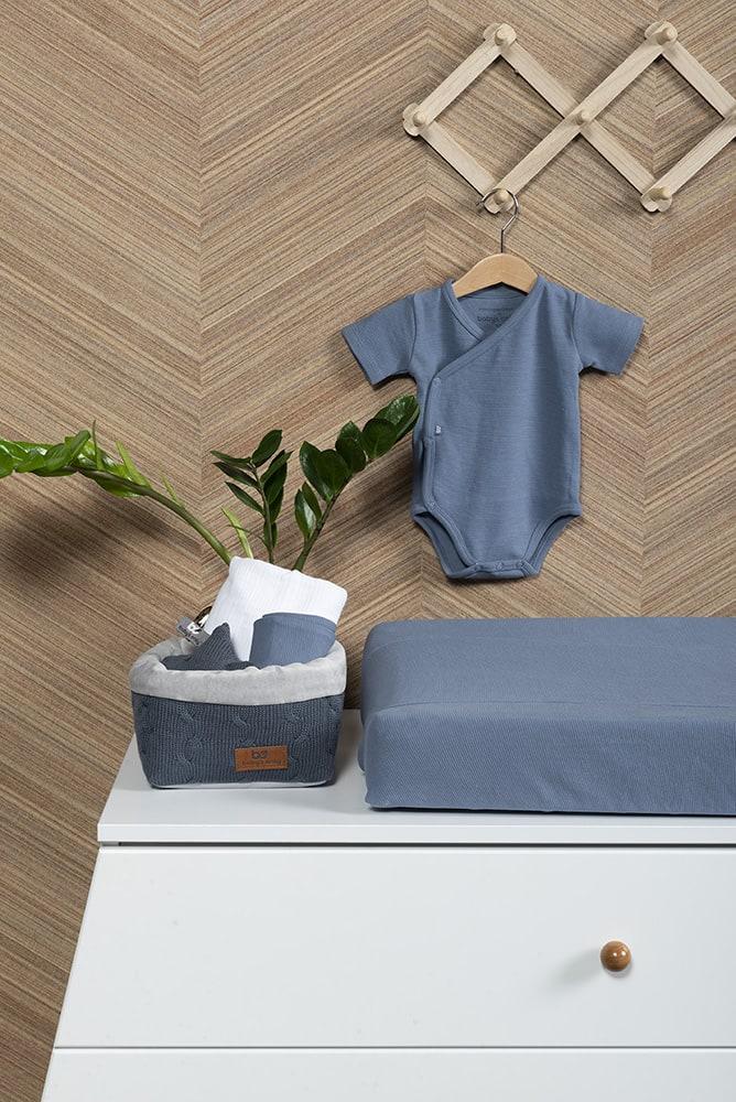 babys only bo341336038 pure rompertje vintage blue 7