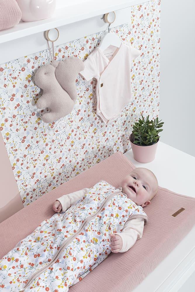 slaapzak bloom oud roze 70 cm