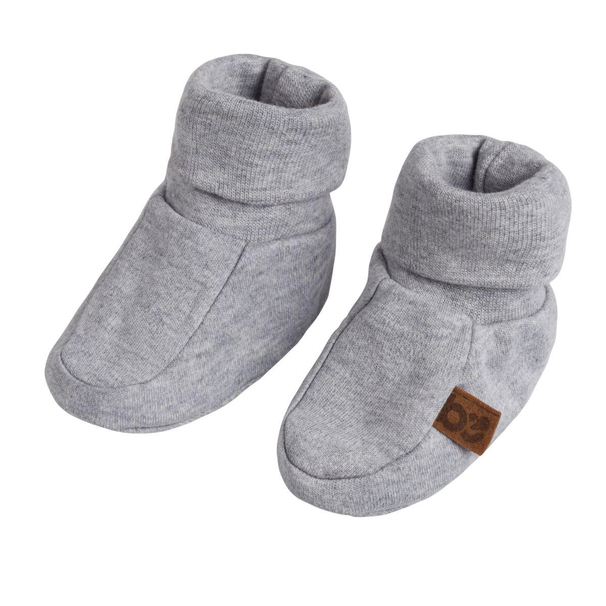babys only 3480222 slofjes melange maat 2 grijs 1