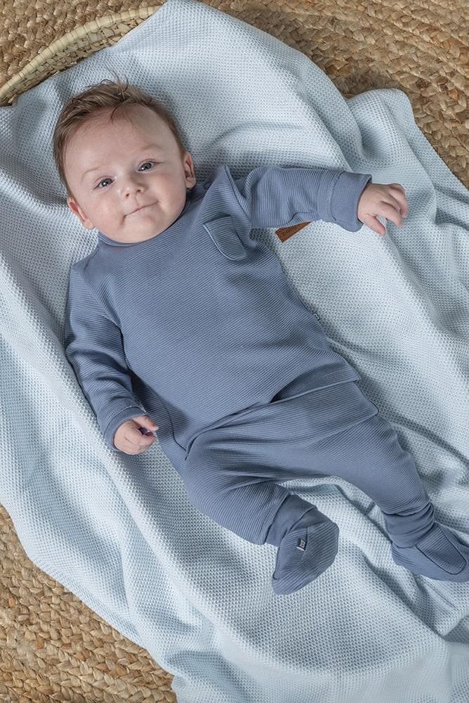 babys only bo341328038 pure slofjes vintage blue 2