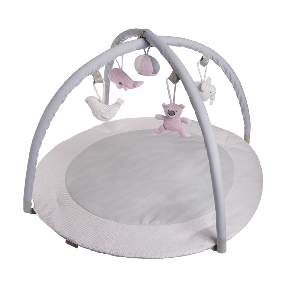 babys only 0850251 baby play gym classic roze baby roze wit 1