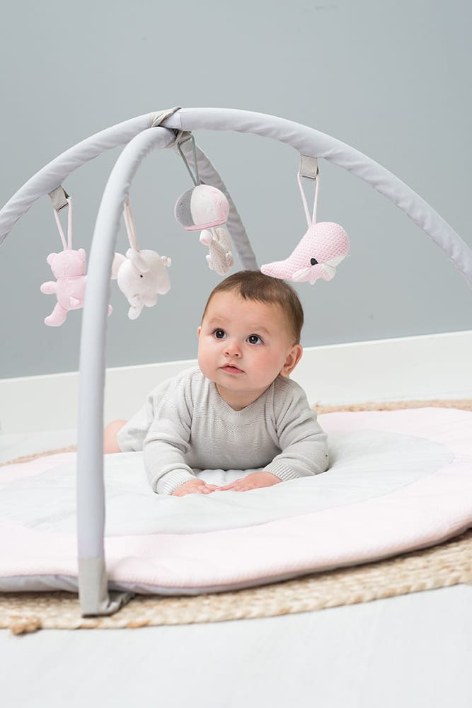 babys only 0850251 baby play gym classic roze baby roze wit 5