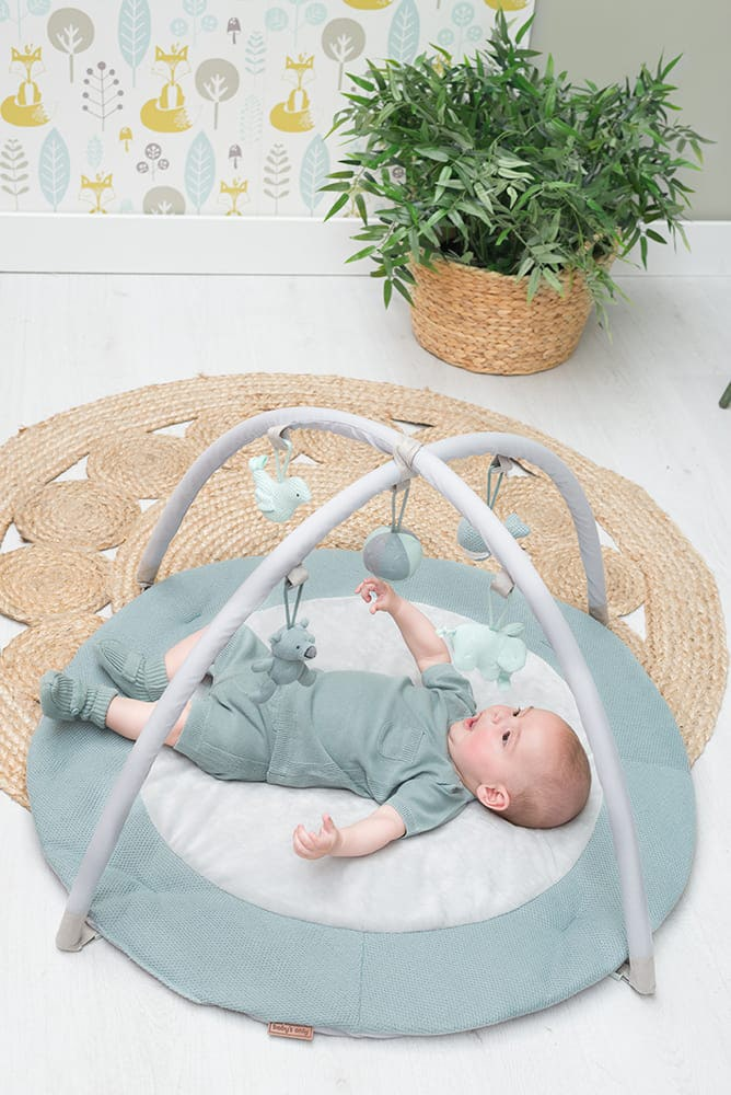 babys only 0850253 baby play gym stonegreen mint wit 3