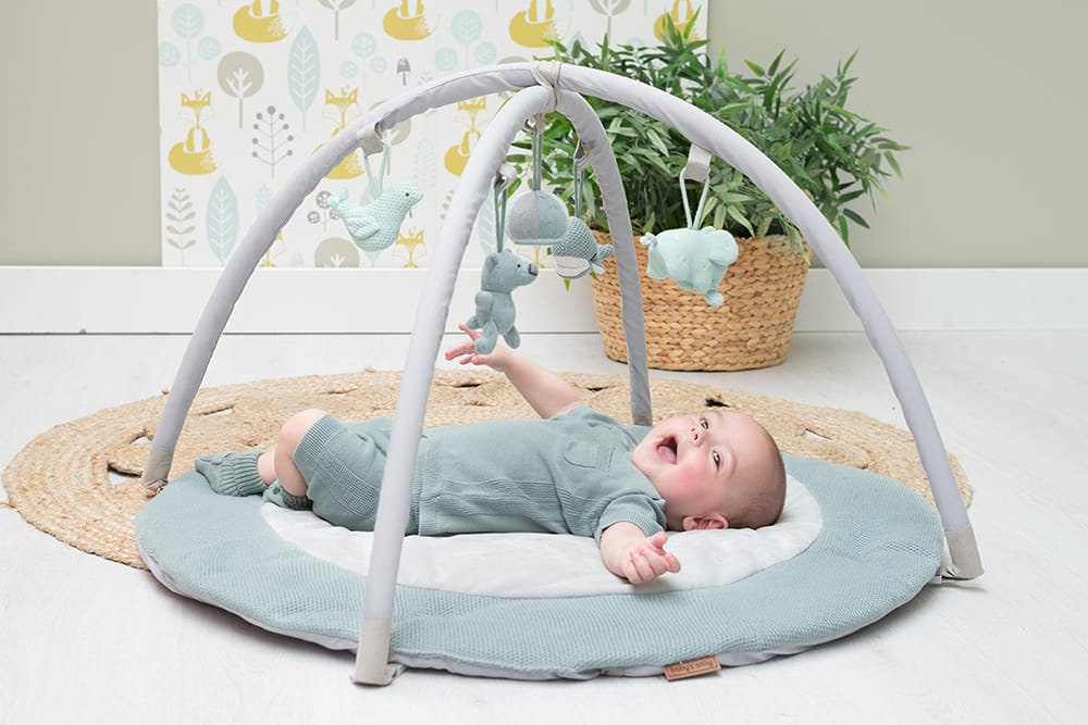 babys only 0850253 baby play gym stonegreen mint wit 4