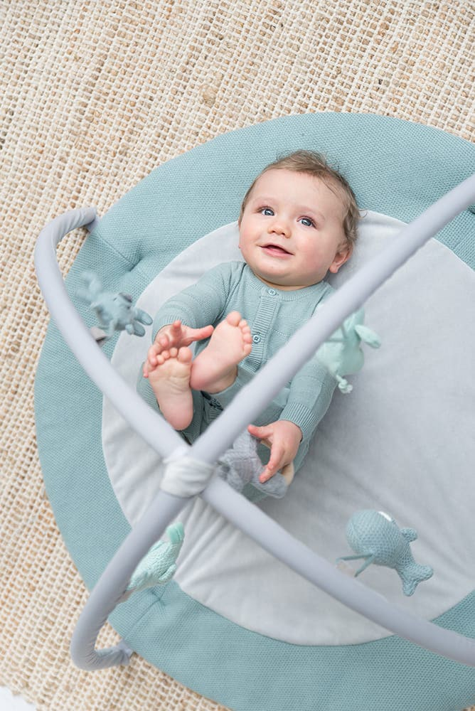 babys only 0850253 baby play gym stonegreen mint wit 5