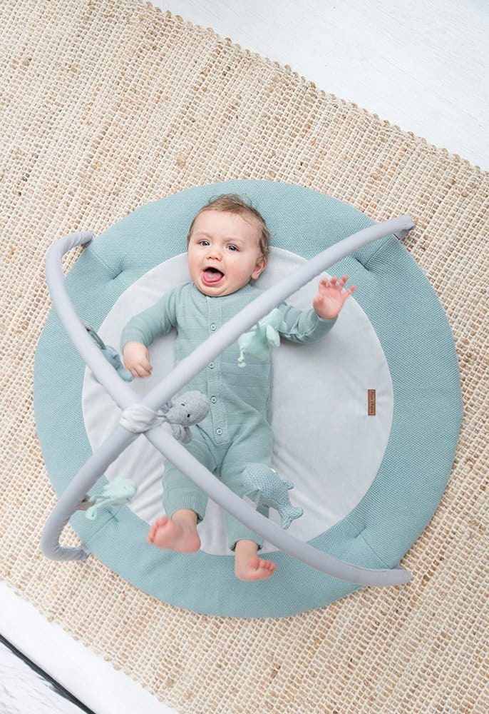 babys only 0850253 baby play gym stonegreen mint wit 6