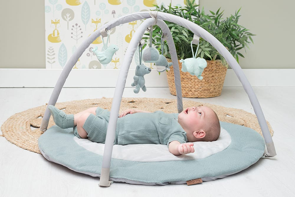babys only 0850253 baby play gym stonegreen mint wit 7