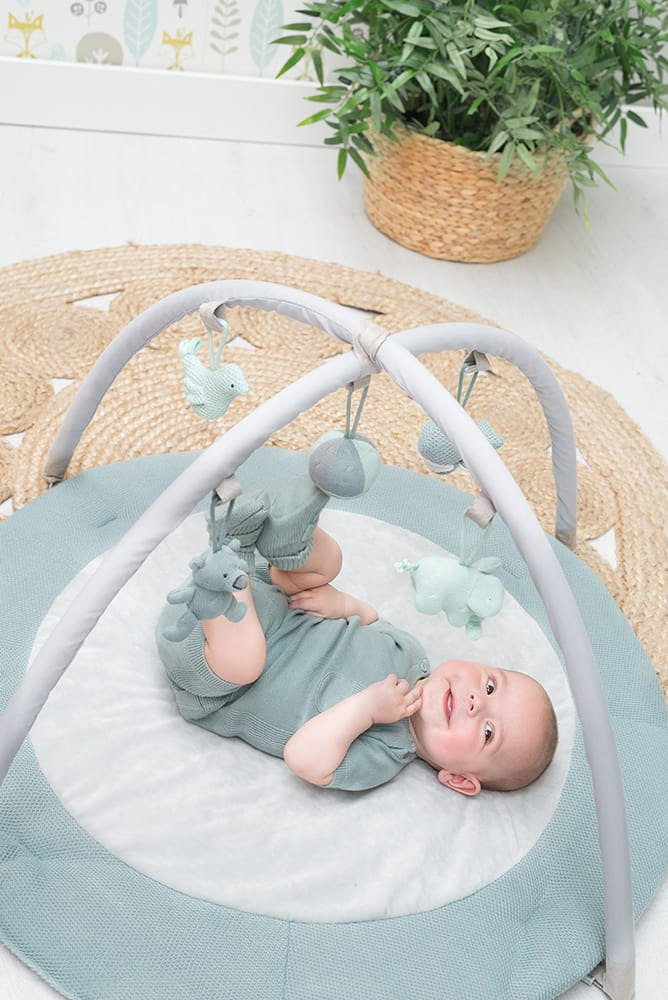 babys only 0850253 baby play gym stonegreen mint wit 8