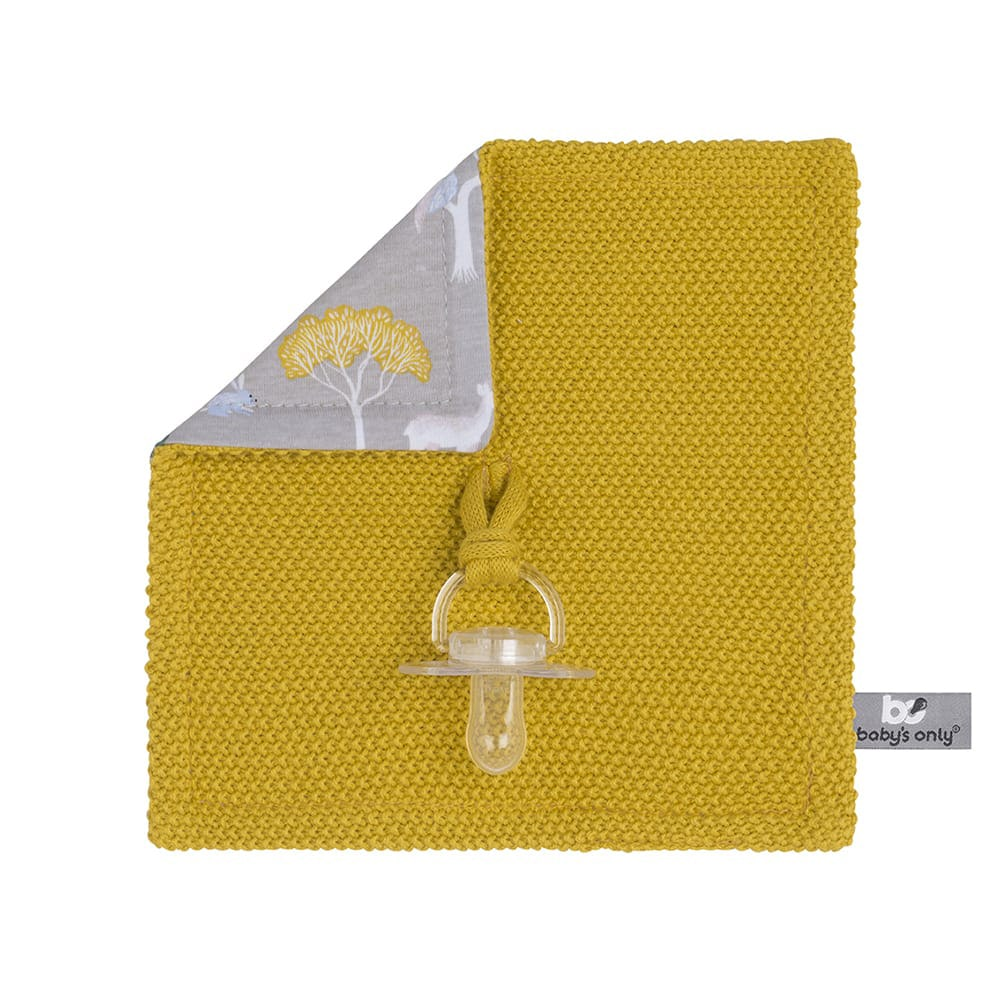 babys only 0262808 speendoekje forest mustard 1
