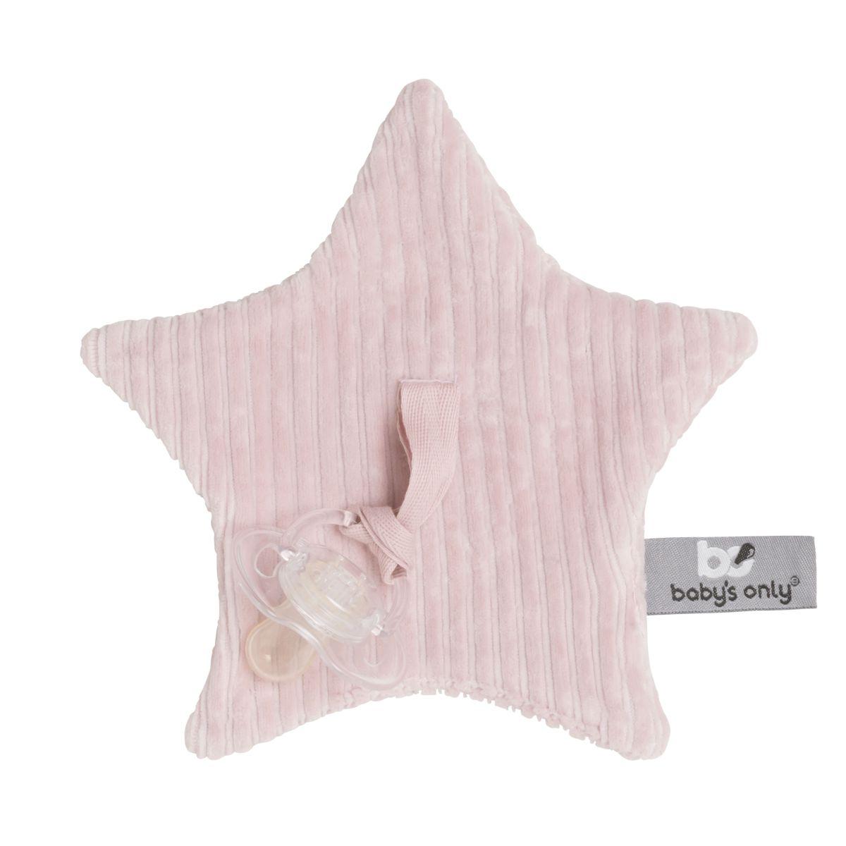 babys only 0242807 speendoekje sense oud roze