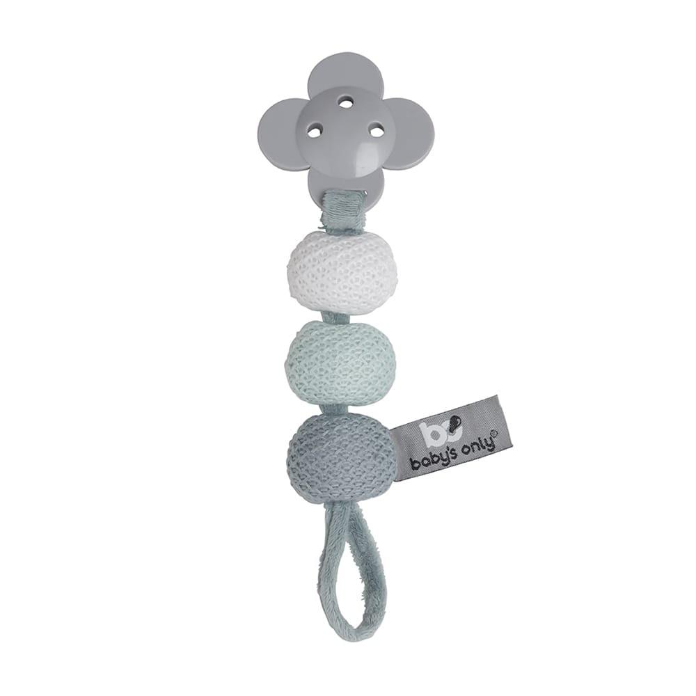 babys only 0852853 speenkoord stonegreen mint wit 1