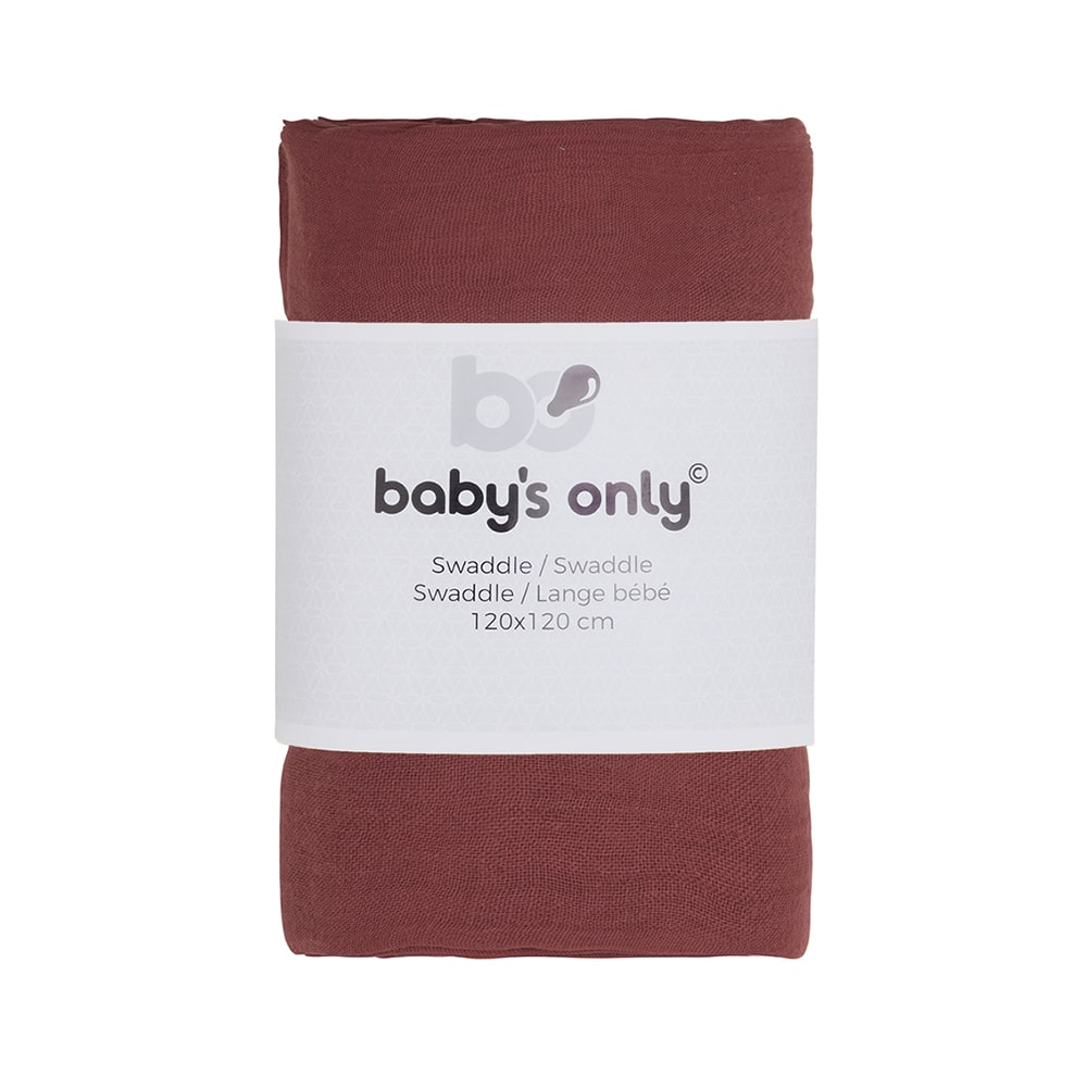 swaddle breeze stone red 120x120