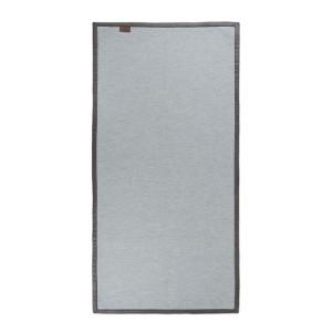 Vloerkleed korrel grijs - 138x70