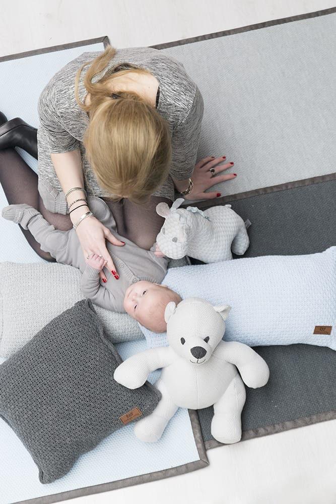 babys only 0830522 vloerkleed korrel grijs 10
