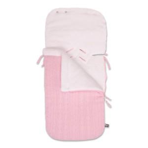 Voetenzak autostoel 0+ Cable baby roze