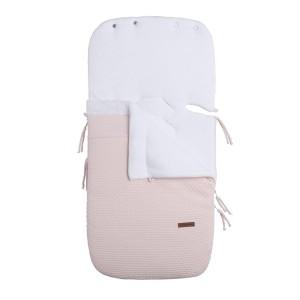 Voetenzak autostoel 0+ Cloud classic roze