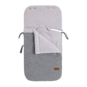 Voetenzak autostoel 0+ Robust grijs