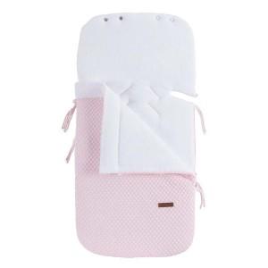 Voetenzak autostoel 0+ Sun classic roze/baby roze