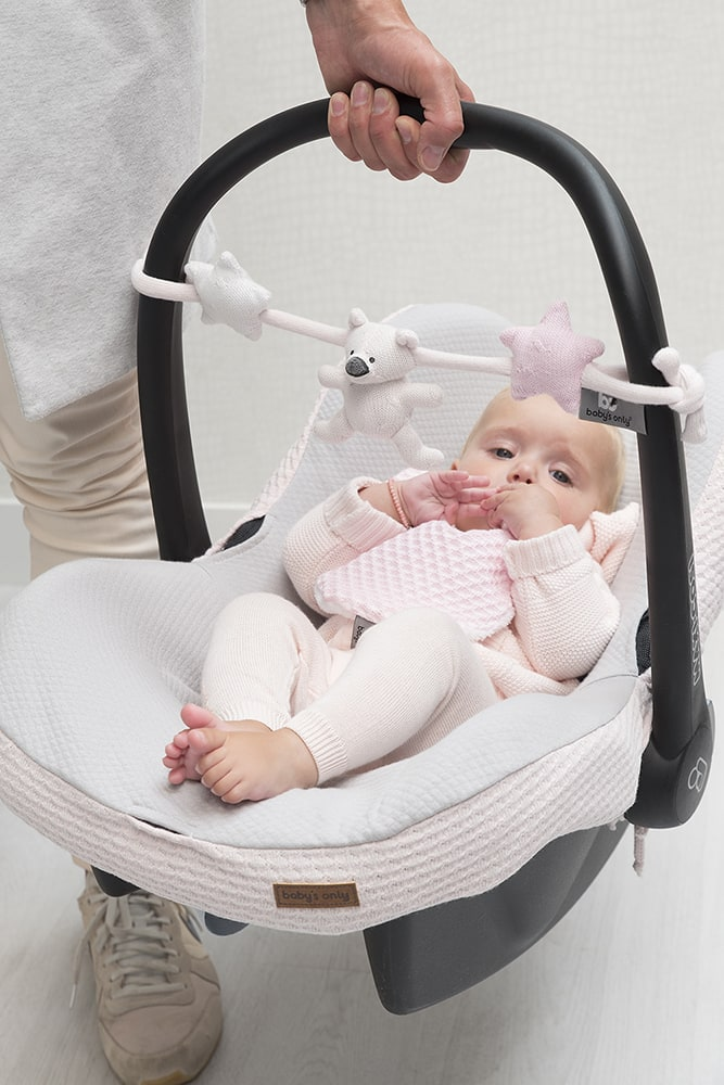 babys only 0857651 wagenspanner classic roze baby roze wit 3
