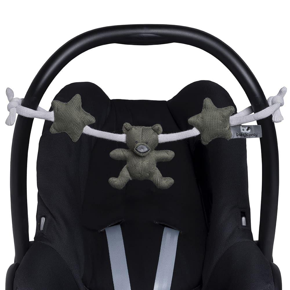 babys only 0857655 wagenspanner khaki zilvergrijs 2