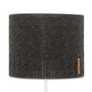 Wandlamp Cable antraciet - 20 cm
