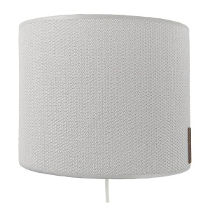 Wandlamp Classic zilvergrijs - 20 cm
