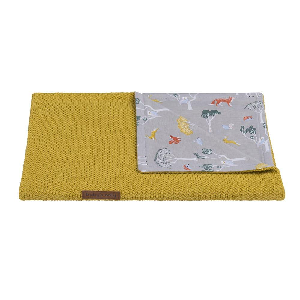babys only 0262508 wiegdeken forest mustard 2