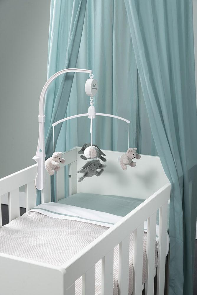babys only bo450031010 wieglaken stonegreenwit 2