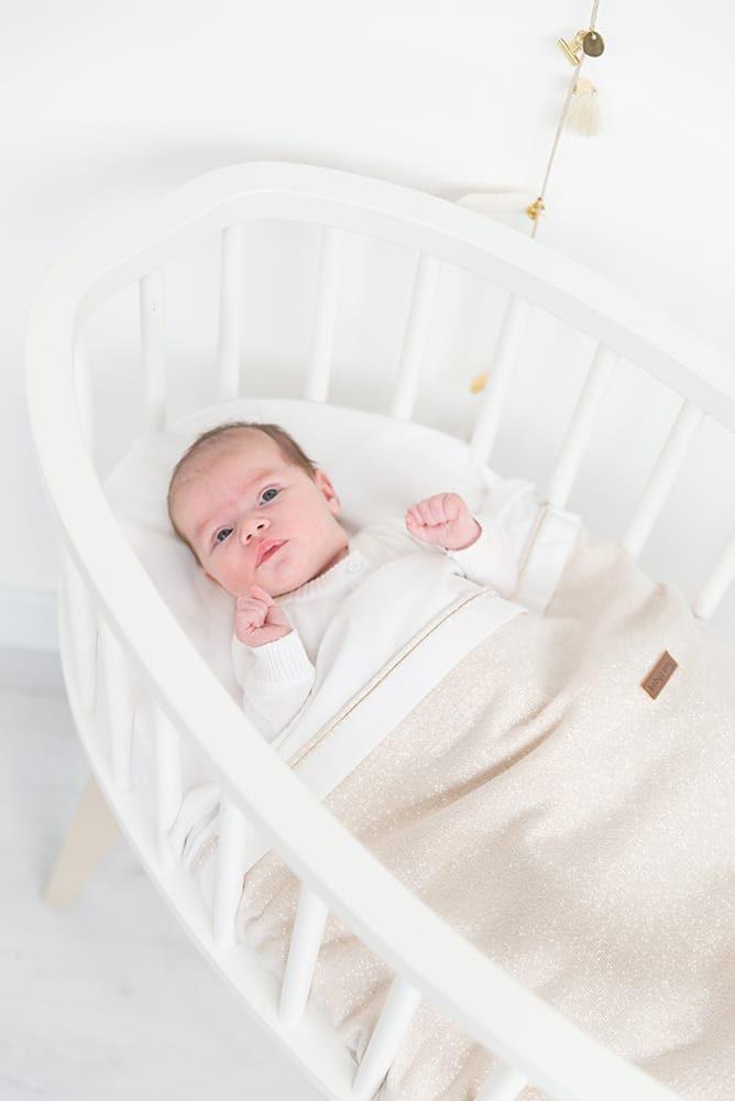 babys only 0453171 wieglaken zilverroze melee 4