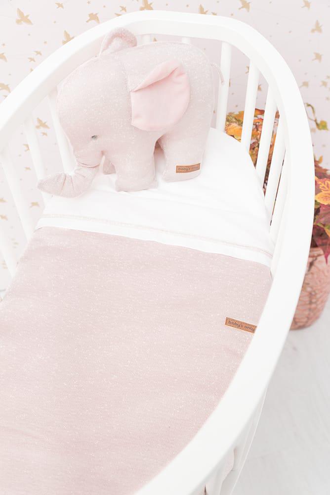 babys only 0453171 wieglaken zilverroze melee 6
