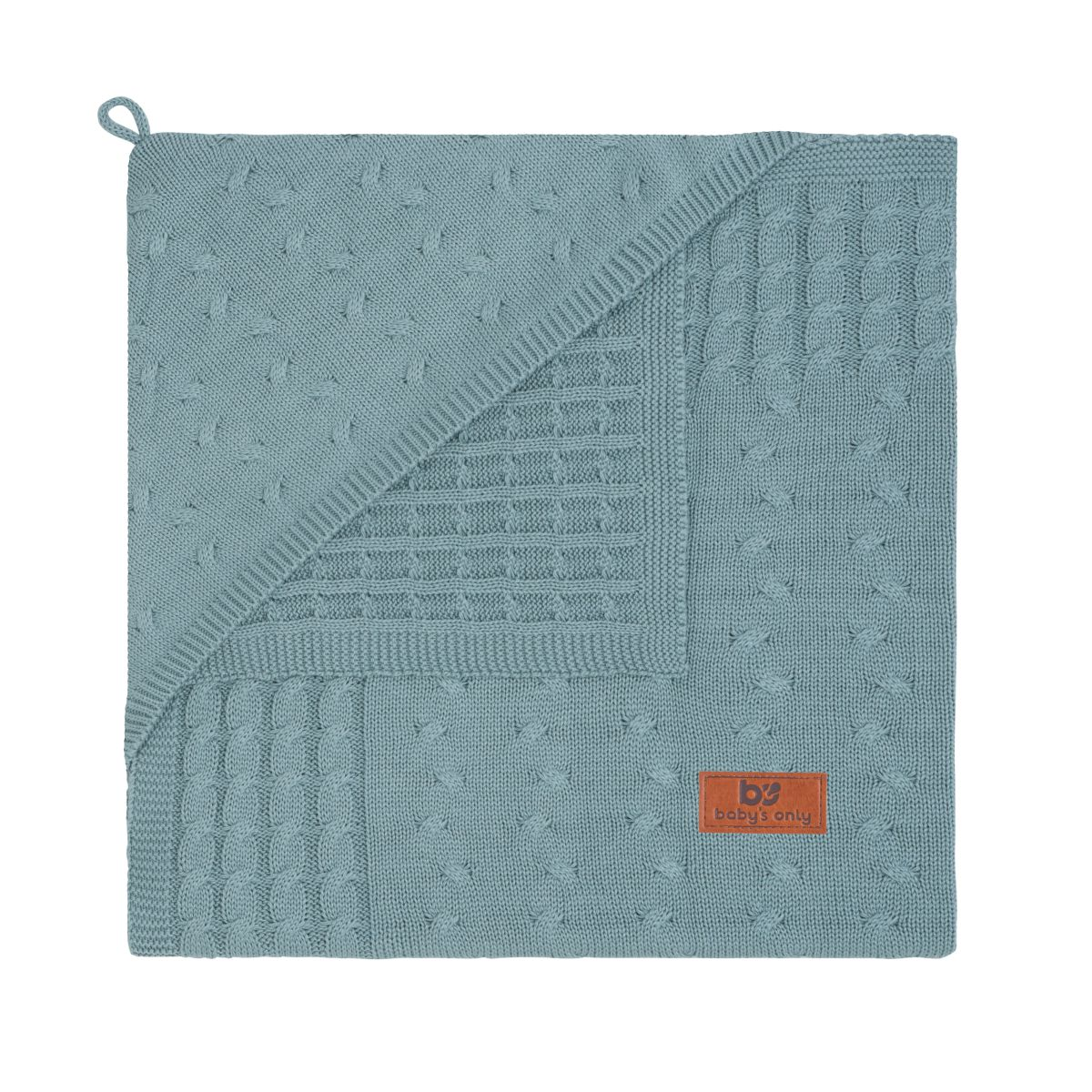 babys only 0132410 omslagdoek uni cable stonegreen