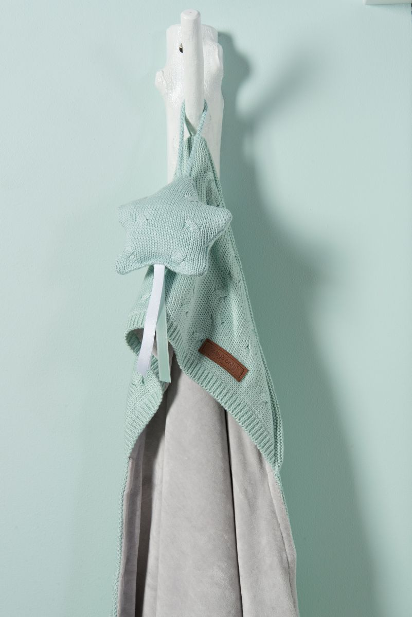 1424 babys only cable omslagdoek chenille 1