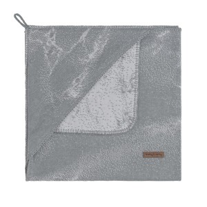 Wikkeldeken Marble grijs/zilvergrijs