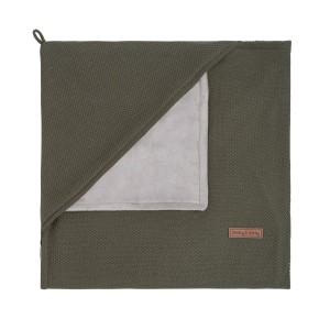 Wikkeldeken soft Classic khaki