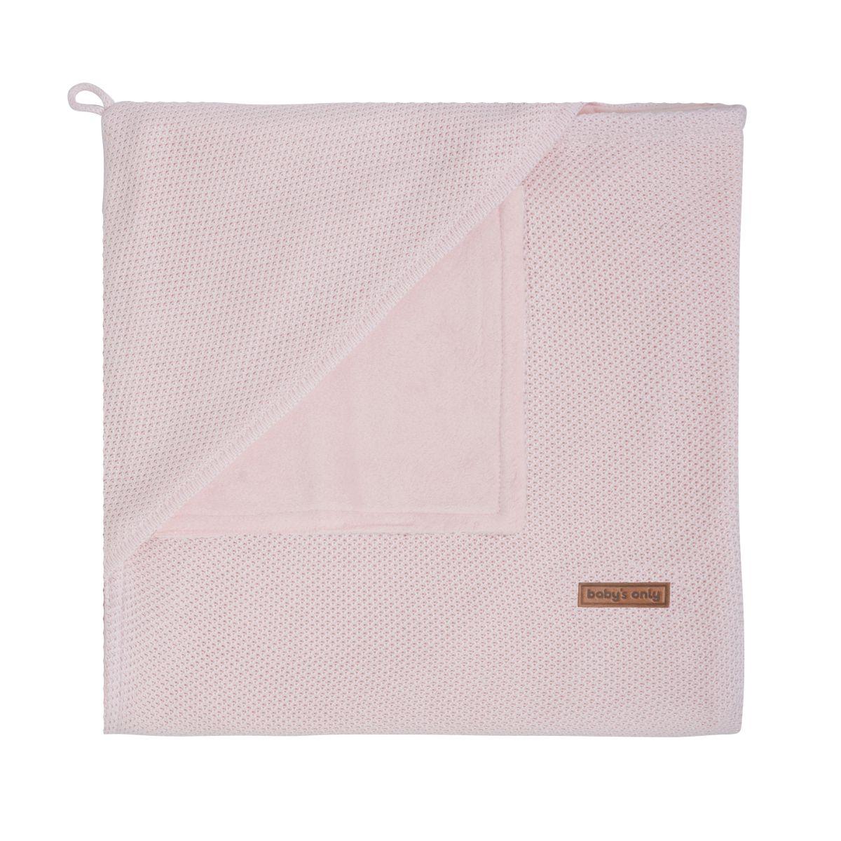 babys only 0202401 omslagdoek soft classic roze