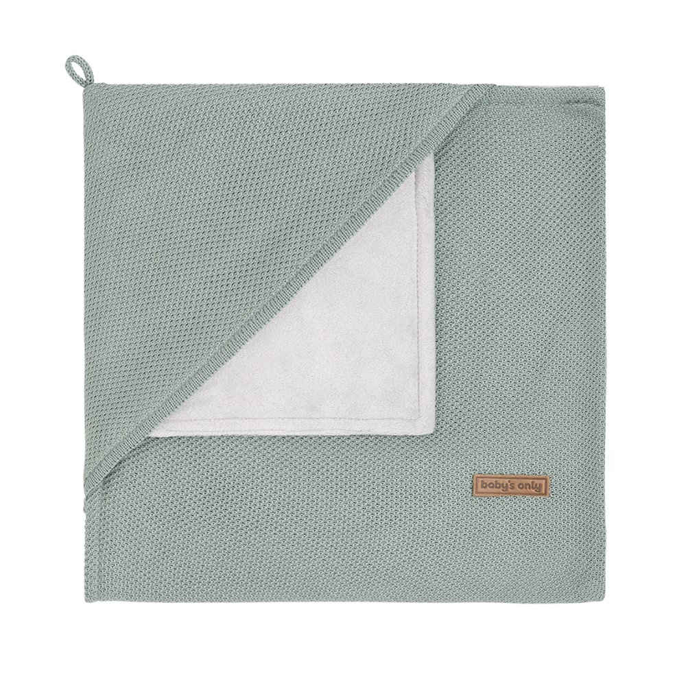 babys only 0202410 omslagdoek soft classic stonegreen