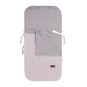 Zomer voetenzak autostoel 0+ Cable classic roze
