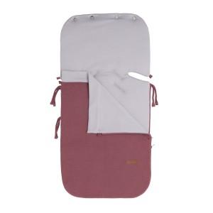 Zomer voetenzak autostoel 0+ Classic stone red