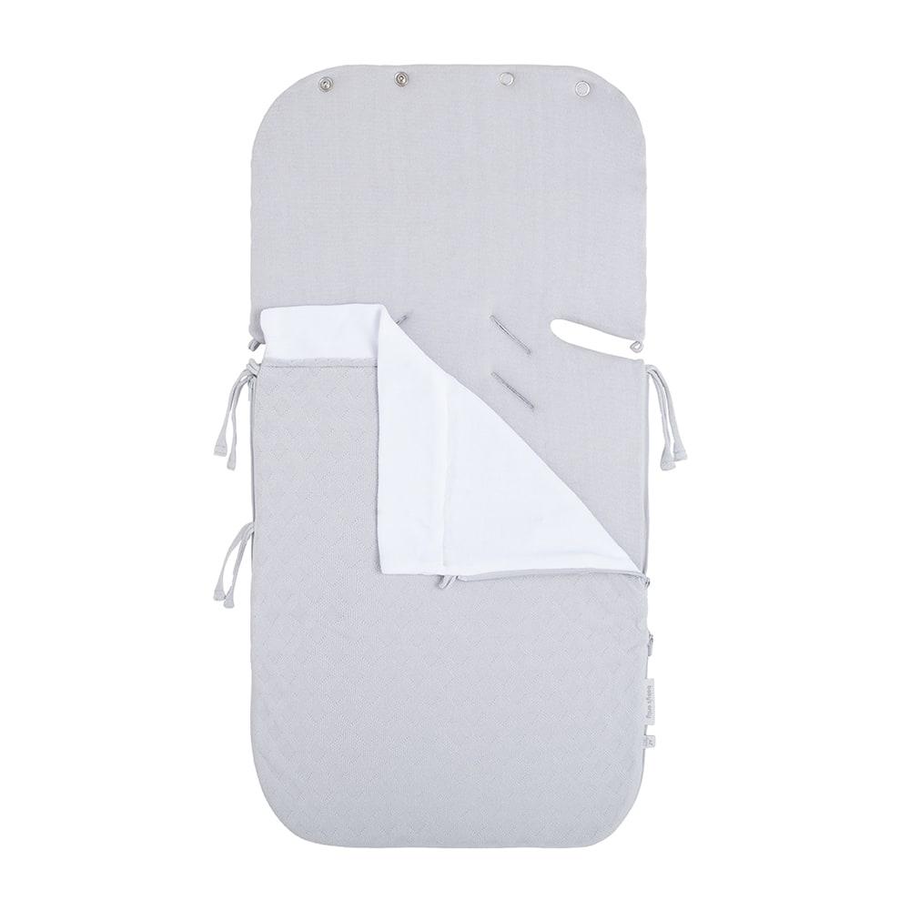 zomer voetenzak autostoel 0 reef dusty grey