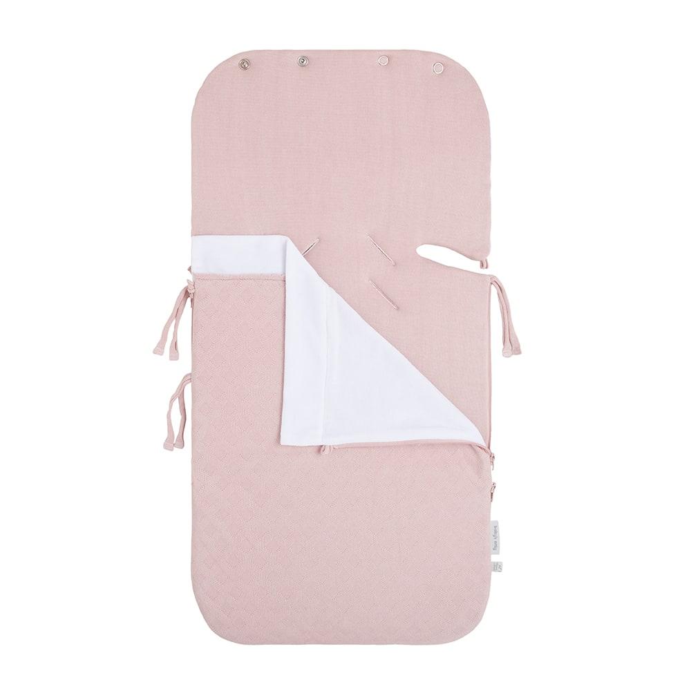 zomer voetenzak autostoel 0 reef misty pink