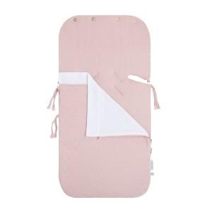 Zomer voetenzak autostoel 0+ Reef misty pink