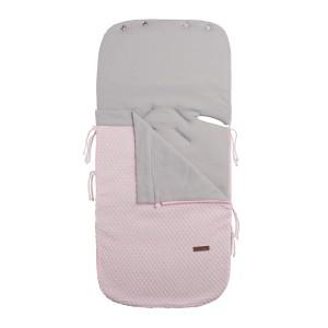 Zomer voetenzak autostoel 0+ Sun classic roze/baby roze
