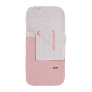 Zomervoetenzak 0+ autostoel Breeze oud roze