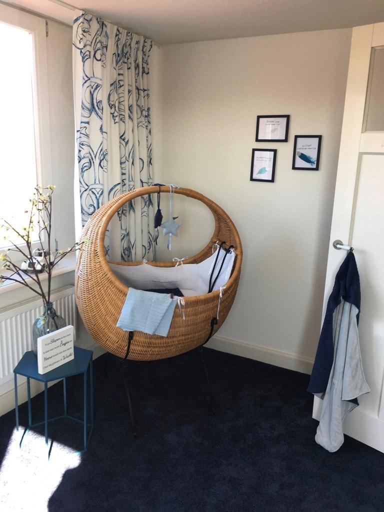 Blog styling babykamer bij de winnares van de negenmaandenbeurs - Zin babykamer ...