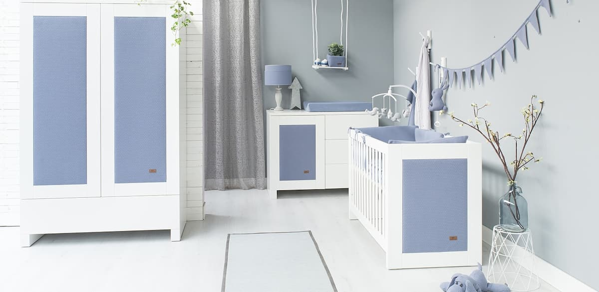 Baby's Only Cloud babykamer indigo